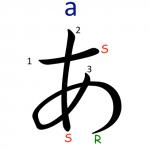 Hiragana letter A