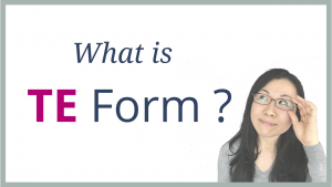 What is TE Form ? – This is How You Use It